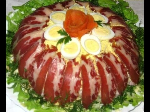 Салат Королевский. Ну оооооболденный салат.