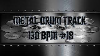 Simple Straight Metal Drum Track 130 BPM | Preset 3.0 (HQ,HD)