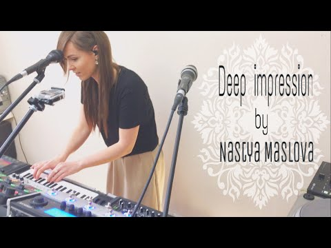 Boss RC-505 - Live looping by Nastya Maslova -