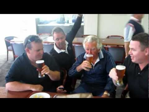 Former Australian PM Bob Hawke passed away today - here's a video of him sculling a beer