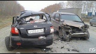 Авария на Полевском тракте 16.10.17 Екатеринбург