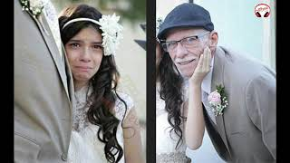 شيخ عجوز تزوج من طفلة عمرها 17 سنة ولكن ما حدث في ليلة الدخلة ..!! شاهد المفاجئة