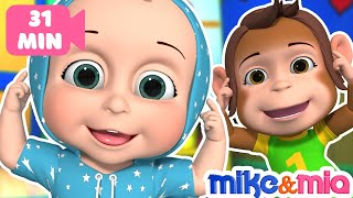 Head Shoulders Knees and Toes | +More Nursery Rhymes & Kids Songs