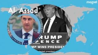 Trump podría acabar con el mundo.