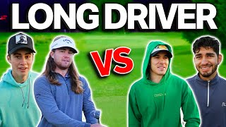 The Best Match We Have Played | Stephen & Micah Vs. Kyle & Garrett | Ft. #1 World Long Driver
