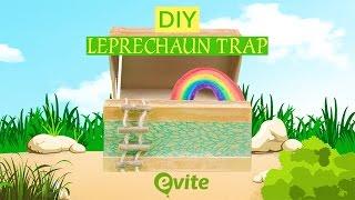 DIY Leprechaun Trap For St. Patricks Day 2019 🍀   Evite DIY