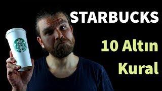 Starbucks'a Giderken Bilmeniz Gereken 10 Altın Kural