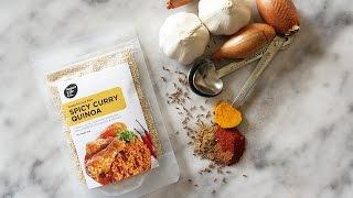 Quinoa Thai Green Curry - Healthy food - Organic - Vegan - Low Cal