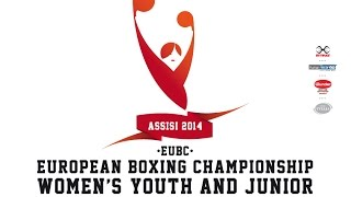 preview picture of video 'EUBC European Women's Junior Youth Boxing Championships #Assisi 2014 - Day 1 Ring B'