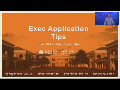 Exec Application Tips - June 2018