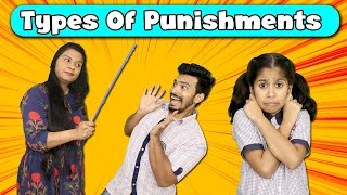 Types Of Punishments | Funny Video | Pari's Lifestyle