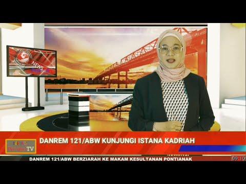 Video of Pererat Silaturahmi, Danrem 121/ABW Berkunjung ke Istana Kesultanan Pontianak