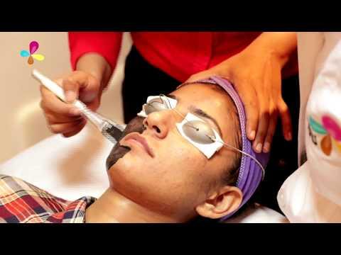 Kung paano maglagay ng mask sa mukha ng mga linya massage