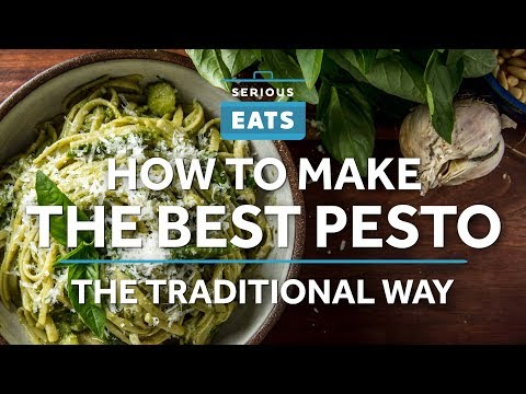 How to Make the Best Traditional Pesto