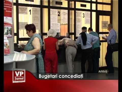 Bugetari concediati