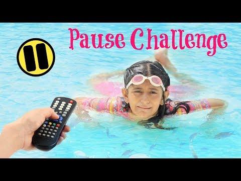 The PAUSE Challenge ...   #Fun #Kids #Anaysa #MyMissAnand