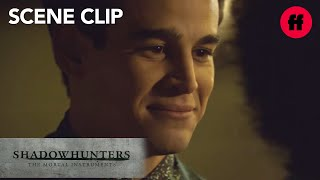 Shadowhunters | Season 2, Episode 16: Simon Drives Maia Home | Freeform