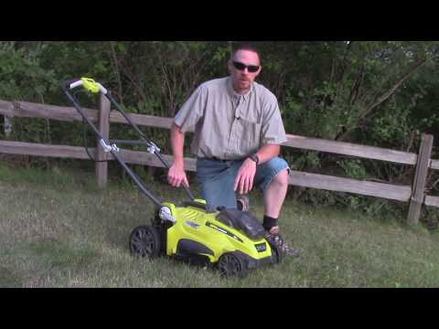 Is 18 Volts Enough? Ryobi 18V ONE+ Lawn Mower Review