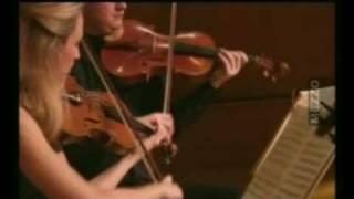 "Royal String Quartet, Mozart 2nd mvt. KV 458 ""The Hunt"", TV Mezzo"