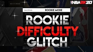ROOKIE DIFFICULTY GLITCH ON NBA 2K20 AFTER PATCH!!! • BEST WAY TO GET BADGES FAST!!!