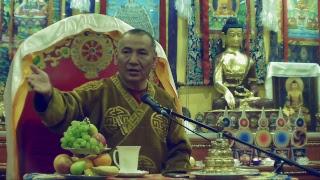 Трансляция лекции Досточтимого Геше Джампа Тинлея (Москва, 4 апреля 2019)