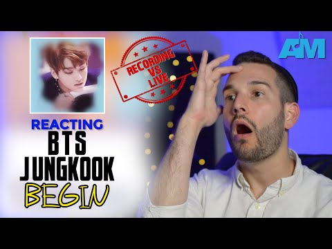 VOCAL COACH reacts to BEGIN by Jungkook from BTS