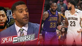 Jim Jackson evaluates the impact of AD potentially joining LeBron in L.A. | NBA | SPEAK FOR YOURSELF