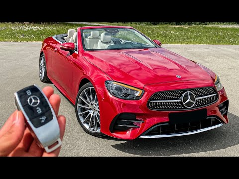 2021 FACELIFT E-Class CABRIOLET! The Perfect Summer Ride!