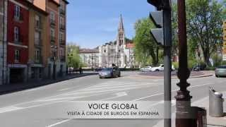 preview picture of video 'Cidade de Burgos em Espanha - Video on VOICEGLOBAL.INFO'