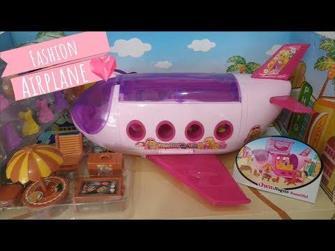 El avión de las muñecas y juguetes   Tic Toc Play