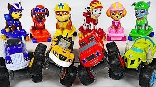 Blaze and the Monster Machines! Defeat the bad Disney Cars that plague Paw Patrol! #DuDuPopTOY