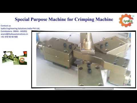 SPM Machine for Crimping Machine