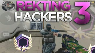 REKTING 3 HACKERS WITH RADAR, AIM, WALL HACK | Special Ops Ranked Gameplay Critical Ops 0.9.10