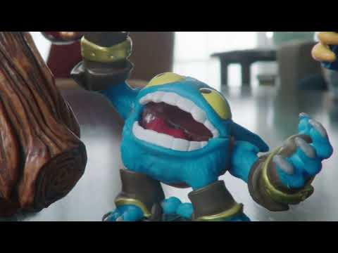 Anúncio de TV do Skylanders Giants
