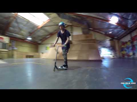 Scooter Tricks by @justinstroudscoot