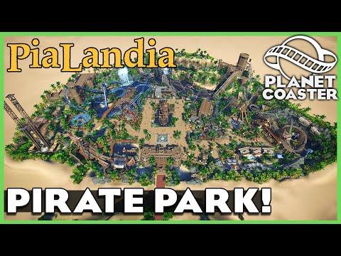 Pialandia: A Pirate Park! Planet Coaster: Park Spotlight 196