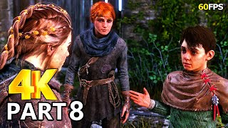 A Plague Tale Innocence Gameplay Walkthrough Part 8 - A Plague Tale PC 4K 60FPS