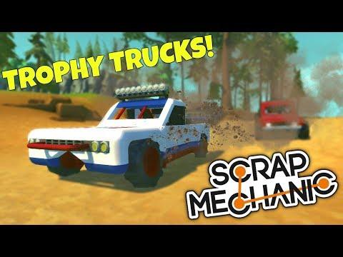 TROPHY TRUCK 2.0! - Scrap Mechanic Gameplay - EP 243