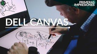 Dell Canvas: La apuesta para los que disfrutan dibujar, crear y editar