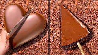 29 ВКУСНЫХ ШОКОЛАДНЫХ РЕЦЕПТОВ    Самодельные идеи для шоколадного декора, десертов и тортов