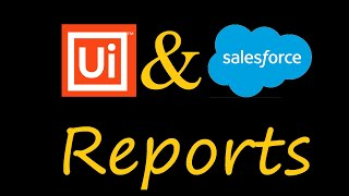 Run Report With Filters from UiPath Studio | Salesforce