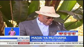 Johnson Muthama adai iponjama ya serikali kumnyamazisha kisiasa