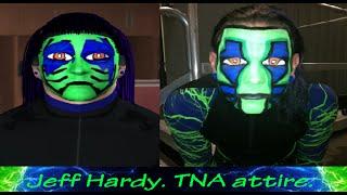 Jeff Hardy (Wrestlemania 33 Return) CAWs SvR 2011 PS2 - Most