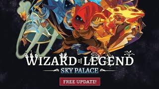 Новое обновление. Билд на критовых молниях // Wizard of Legend #9