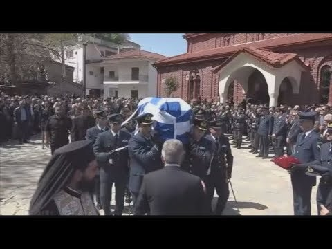 Στην ιδιαίτερη πατρίδα του κηδεύτηκε 34χρονος σμηναγός Γιώργος Μπαλταδώρος