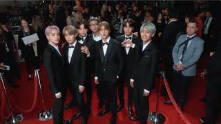 BTS   2019 Grammy Awards   Red Carpet Compilation