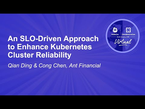 Image thumbnail for talk An SLO-Driven Approach to Enhance Kubernetes Cluster Reliability