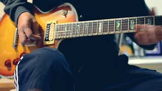 Bluesing around with the EC1000 + Dimarzio Super Distortion - Video Youtube