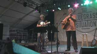 Sam Bush and Del McCoury perform Ole Slew Foot at Bonnaroo 2013 in HD
