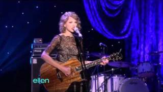 Taylor Swift- Mine - Ellen Degeneres Show (11/01/10)